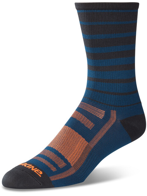 Dakine Singletrack Socks Men slate blue stripe
